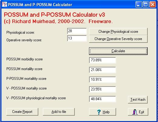 O Possum Score Richard Muirhead's Dow...